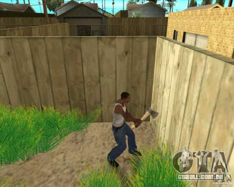 Armas da chamada do dever para GTA San Andreas sexta tela