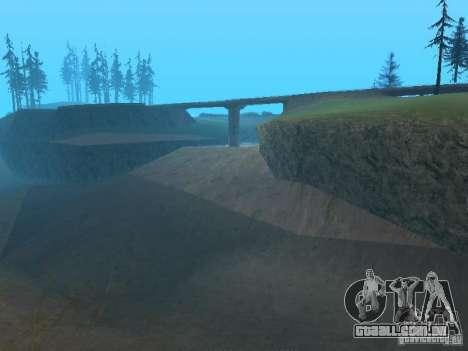 Não há água para GTA San Andreas por diante tela
