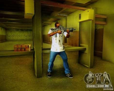 Tavor Tar-21 Digital para GTA San Andreas sexta tela