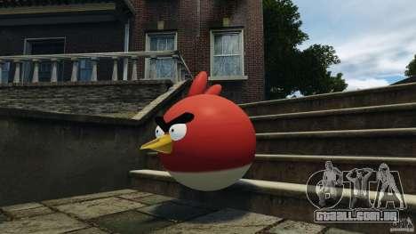 Angry Bird Ped para GTA 4 terceira tela