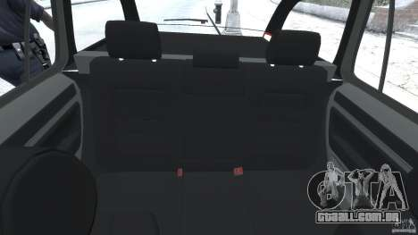 Skoda Octavia Scout Unmarked [ELS] para GTA 4 vista de volta