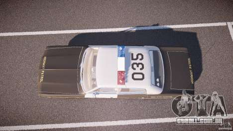 AMC Matador CHP [ELS] para GTA 4 vista direita