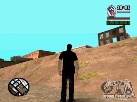 Slaude FXstyle para GTA San Andreas segunda tela