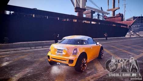 Mini Coupe Concept v0.5 para GTA 4 vista direita