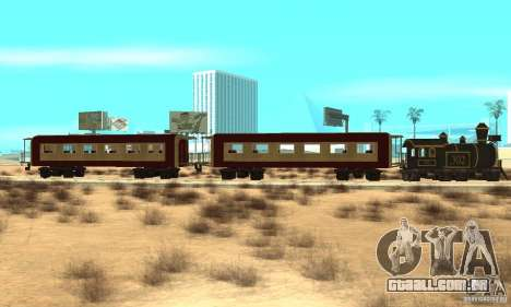 Lokomotiv para GTA San Andreas esquerda vista