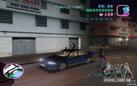 Volkswagen Passat B5+ W8 para GTA Vice City vista direita