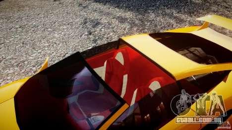 Lamborghini Cala para GTA 4 vista interior