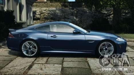 Jaguar XKR-S Trinity Edition 2012 v1.1 para GTA 4 esquerda vista