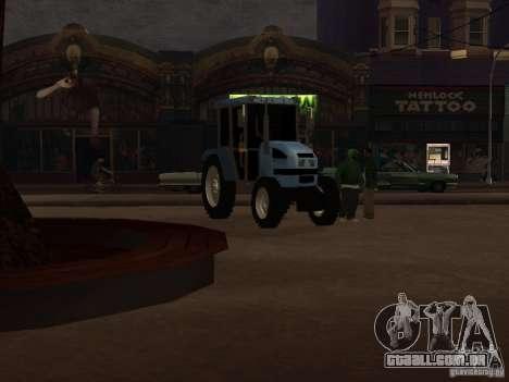 Trator МТЗ 922 para GTA San Andreas esquerda vista