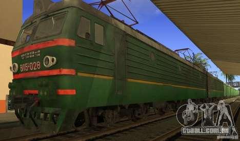 FERROVIÁRIA mod para GTA San Andreas quinto tela