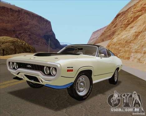 Playable ENB Series v1.1 para GTA San Andreas