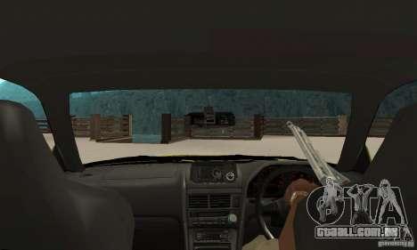 Nissan Skyline R34 GTR para GTA San Andreas vista direita