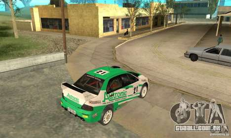 Mitsubishi Lancer Evolution IX para as rodas de GTA San Andreas