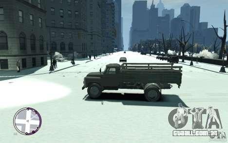GAZ 53 para GTA 4 esquerda vista