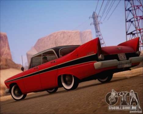 SA_NGGE ENBSeries v. 1.2 versão jogável para GTA San Andreas por diante tela