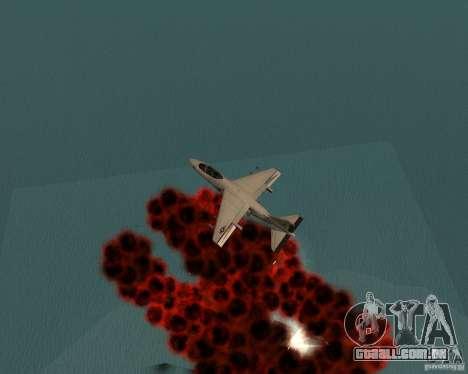 Cluster Bomber para GTA San Andreas sexta tela