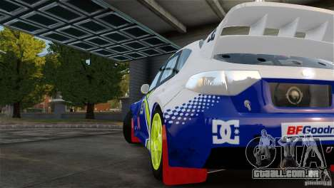Subaru Impreza WRX STI Rallycross BFGoodric para GTA 4 vista direita