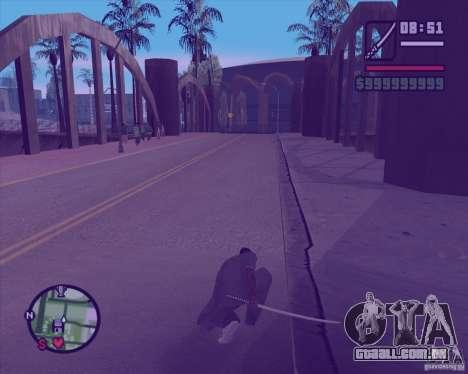 Chidory Mod para GTA San Andreas sexta tela