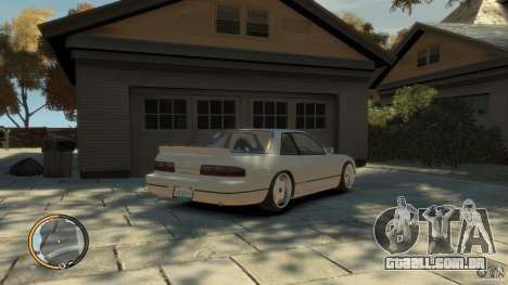 Nissan Silvia s13 Drifted v1.0 para GTA 4 esquerda vista