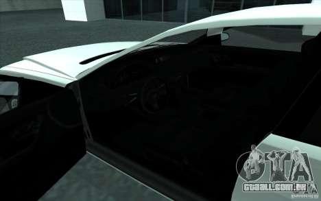Cognoscneti do GTA 4 para GTA San Andreas vista interior