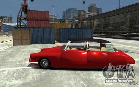 Citroen ID 19 para GTA 4 esquerda vista