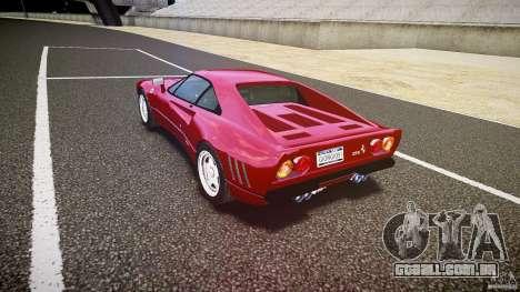 Ferrari 288 GTO para GTA 4 vista lateral