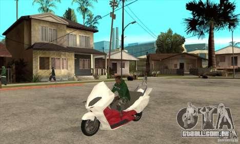 Honda Forza para GTA San Andreas