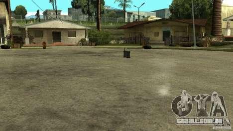 Flash do CoD MW2 para GTA San Andreas por diante tela