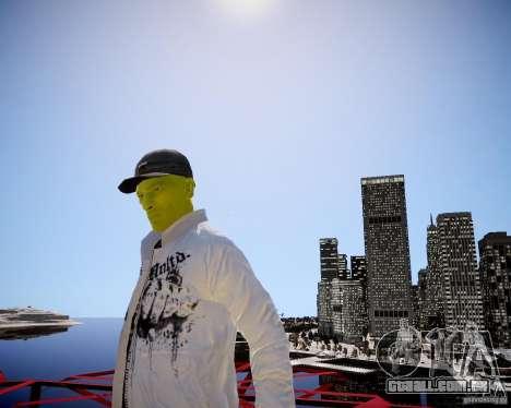 Niko The Mask para GTA 4 por diante tela