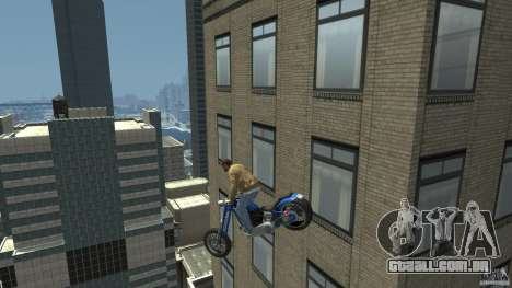 The Lost and Damned Bikes Hexer para GTA 4 vista direita