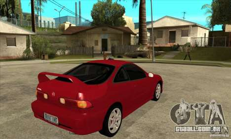 Acura Integra Type-R - Stock para GTA San Andreas vista direita