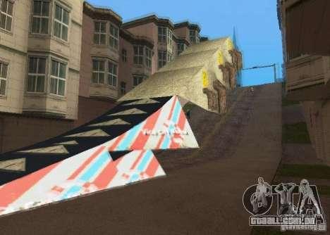 Jump Ramp Stunting para GTA San Andreas segunda tela