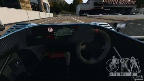 Radical SR3 para GTA 4 vista de volta