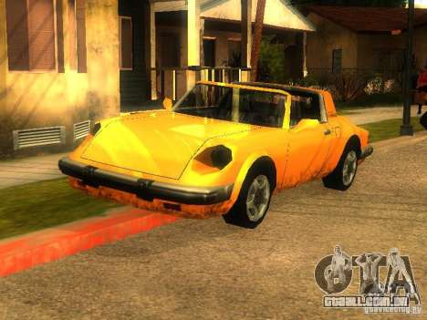 New Car in Grove Street para GTA San Andreas