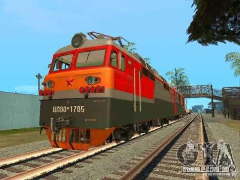 Vl80m-1785 ferrovias russas para GTA San Andreas