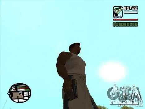 USP 45 para GTA San Andreas segunda tela