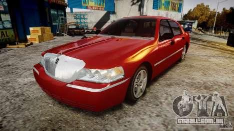 Lincoln Town Car 2003 para GTA 4