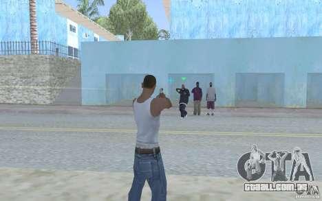Vista azul para GTA San Andreas terceira tela