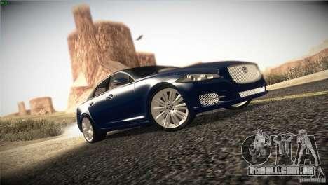 Jaguar XJ 2010 V1.0 para GTA San Andreas