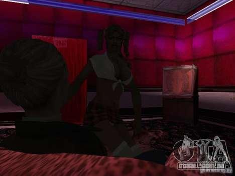 Lucy Stillman in Assassins Creed Brotherhood para GTA San Andreas nono tela