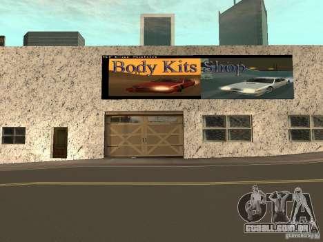 San Fierro Car Salon para GTA San Andreas terceira tela