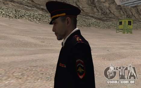 O oficial do Ministério do INTERIOR para GTA San Andreas terceira tela