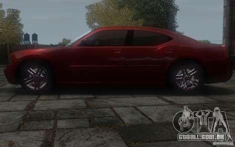 Dodge Charger RT Hemi 2008 para GTA 4 esquerda vista