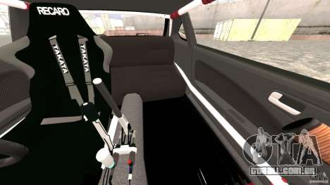 Nissan Silvia S15 Drift para GTA 4 vista inferior