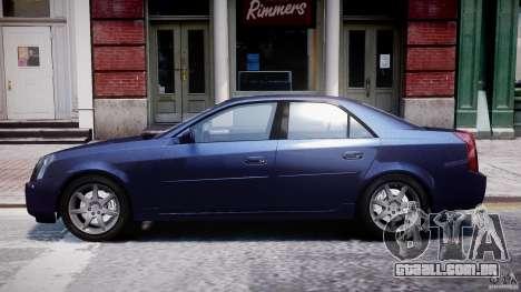 Cadillac CTS para GTA 4 esquerda vista