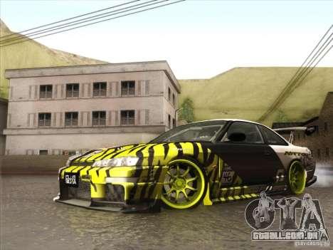 Nissan 200SX S14A para GTA San Andreas vista interior