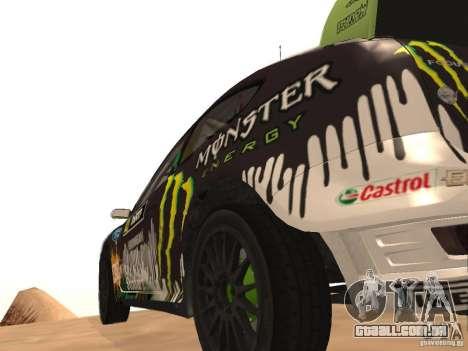 Ford Focus RS2000 v1.1 para GTA San Andreas traseira esquerda vista