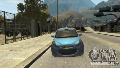 Hyundai IX20 2011 para GTA 4 esquerda vista