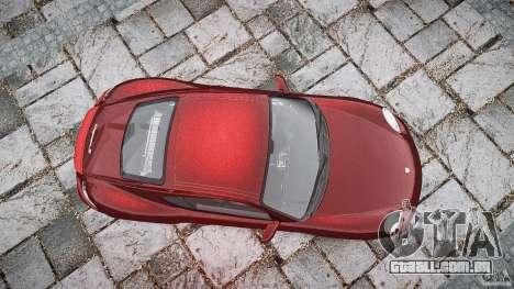 Porsche Cayman S v1 para GTA 4 vista superior