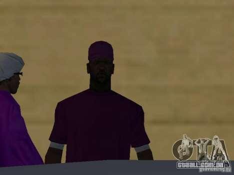 Novas skins Ballas para GTA San Andreas sétima tela